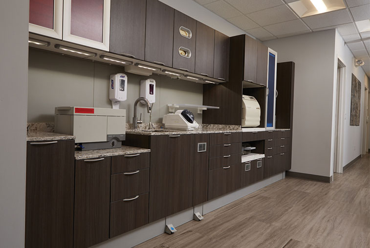 Sterilization Room Give your patients peace-of-mind and manage infection control with confidence