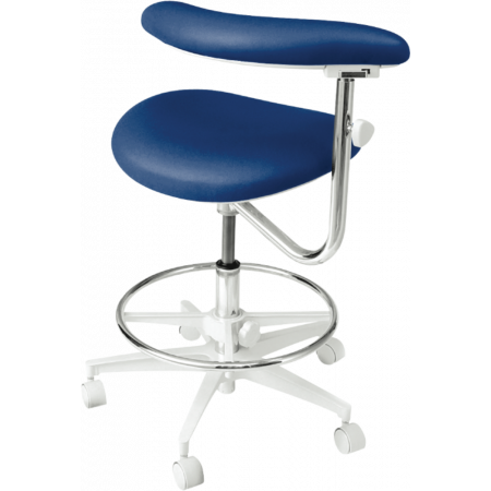 Brewer Company 3100 Series Assistant Stool - Distributed by Henry Schein