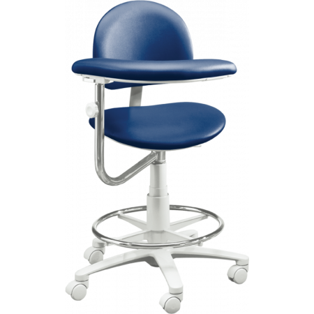 Brewer Company 3300 Series Assistant Stool - Distributed by Henry Schein
