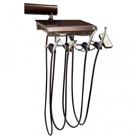 Forest Dental Fixed Chair Mount w/Sidebox - Distributed by Henry Schein