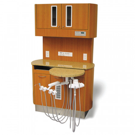 Belmont D-66CM Left-Right Rear Treatment Console - Distributed by Henry Schein