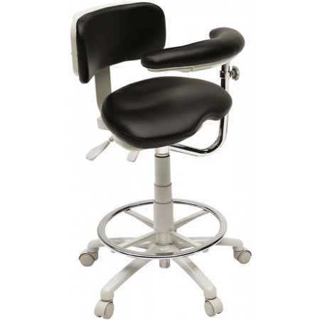 Brewer Company 9500 Series Assistant Stool - Distributed by Henry Schein