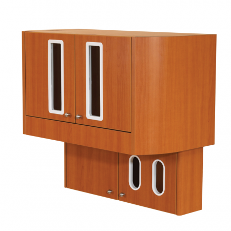 Belmont D-2 Wall Mount Storage Unit - Distributed by Henry Schein