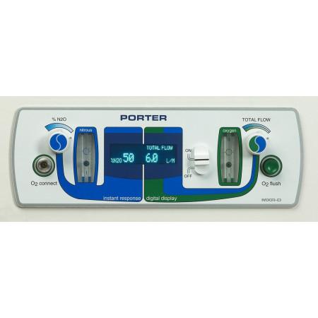 Porter MXR-D Flowmeter - Distributed by Henry Schein