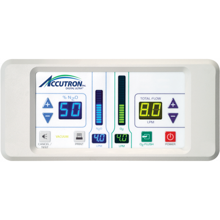 Accutron Digital Ultra® Flushmount Flowmeter System - Distributed by Henry Schein