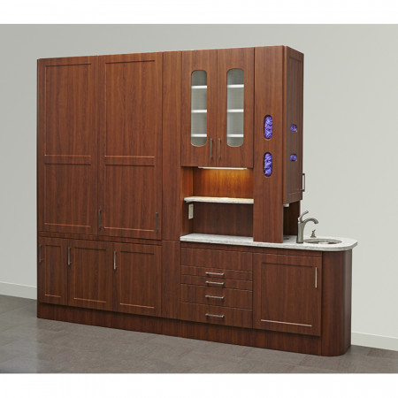 Midmark Synthesis® Casework Collection - Central Station - Distributed by Henry Schein