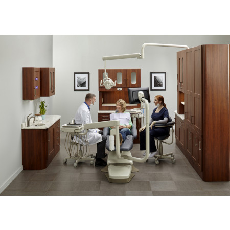 Midmark Synthesis® Side Casework - Distributed by Henry Schein