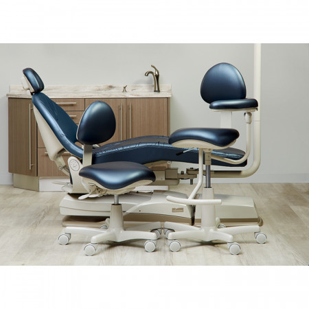 Midmark Dental Assistant's Stool - Distributed by Henry Schein