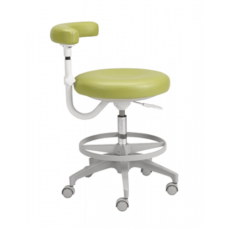 A-dec 422 Assistant stool with torso support - Distributed by Henry Schein