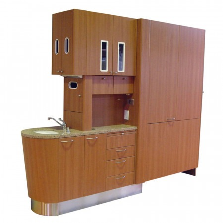 Belmont D-4RH Split Entry Console - Distributed by Henry Schein