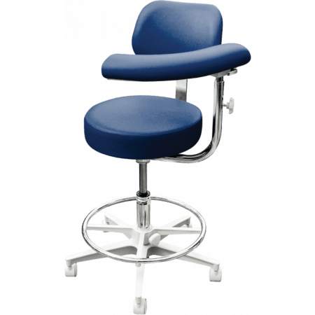 Brewer Company 2000 Series Assistant Stool - Distributed by Henry Schein