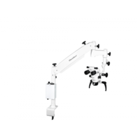 Seiler Alpha Air 3, 0-220 Head, Table Mount, LED Illumination Dental Microscope - Distributed by Henry Schein