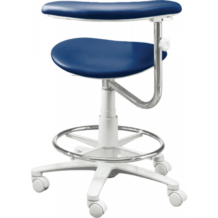 Brewer Company 3300 Series Assistant Stool   Distributed By Henry Schein