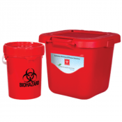 Solmetex PWS Biohazard/Sharps Solutions – 20 gal container
