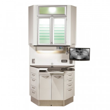 Belmont E-6 Left-Right Treatment Console - Distributed by Henry Schein