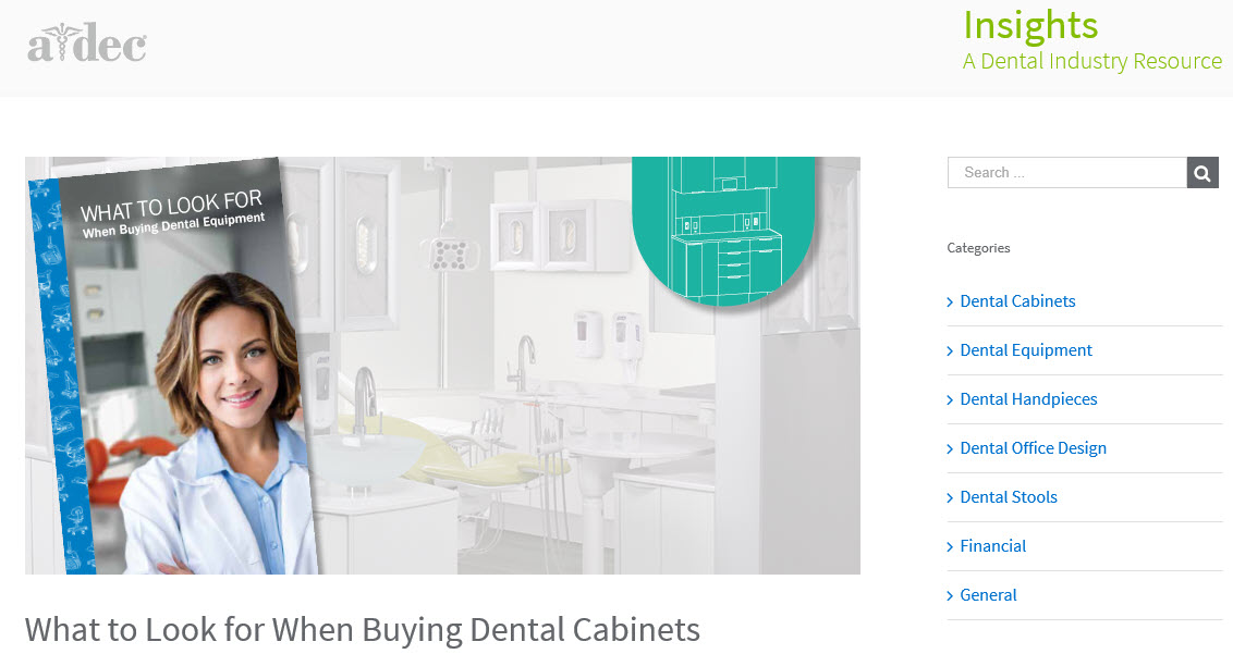 What to Look for When Buying Dental Cabinets