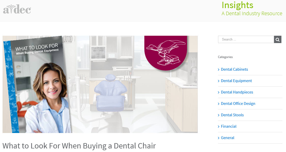 What to Look For When Buying a Dental Chair