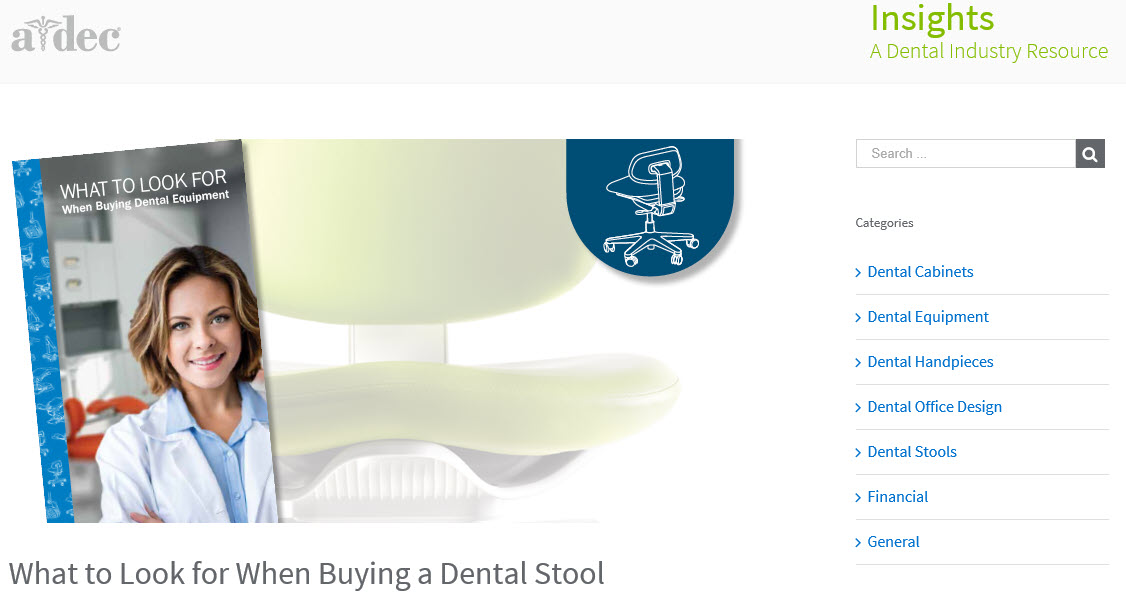 What to Look for When Buying a Dental Stool