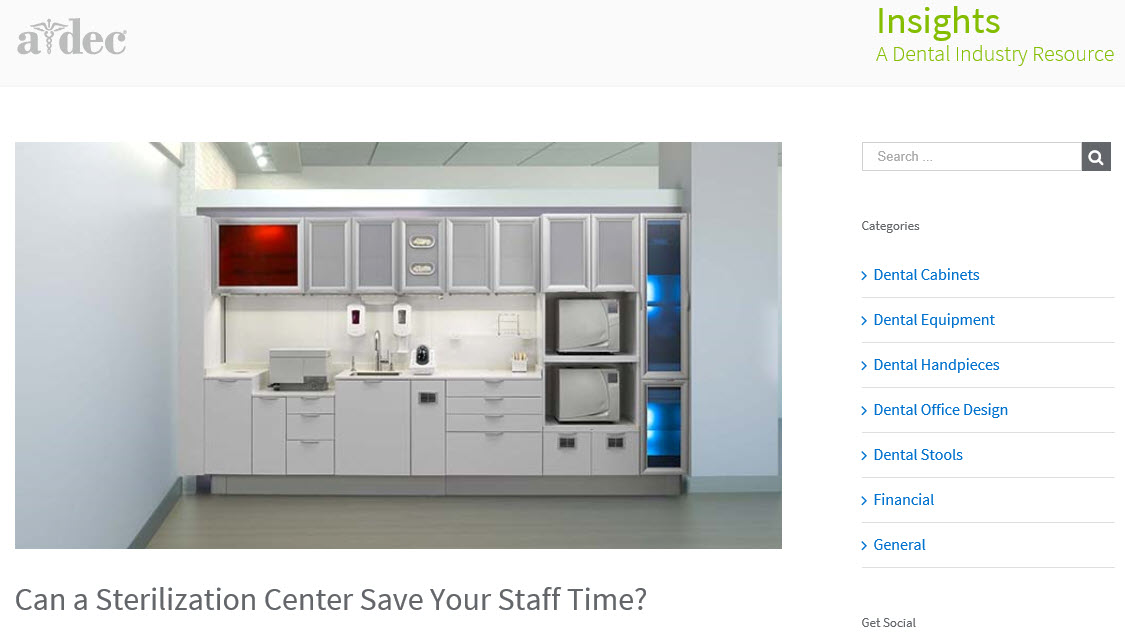 Can a Sterilization Center Save Your Staff Time?